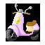 マイクリプロヒーローズ にゃ~さんのスクーター(Uncommon)